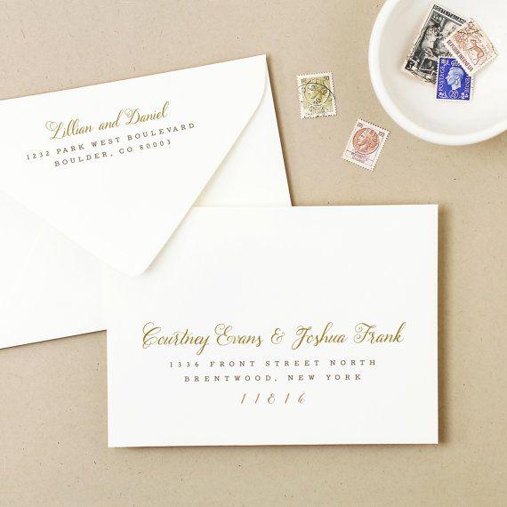 The  Best Diy Wedding Envelope Template Ideas On