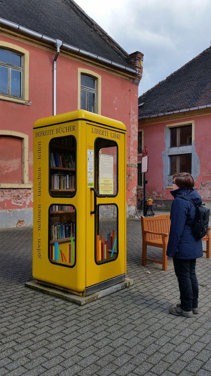 Little Free Library In W�rlitz, Saxonyanhal