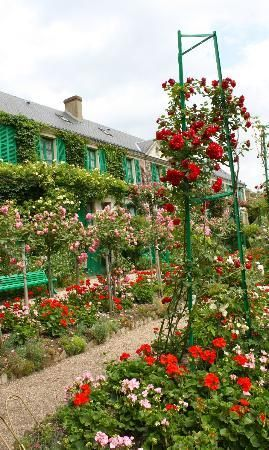 Giverny, France - Monet's home