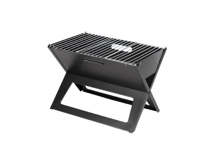 ERollDepep X Compact Folding Portable Charcoal Barbecue BBQ Grill Outdoor Notebook Charcoal Grill Original Folding Charcoal BBQ Grill Made from Stainless Steel * Details can be found by clicking on the image.