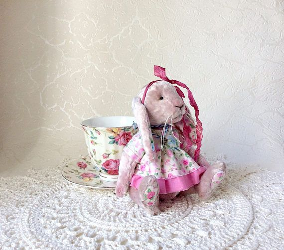 Teddy bunny stuffed animals artist bear artist bunny plush