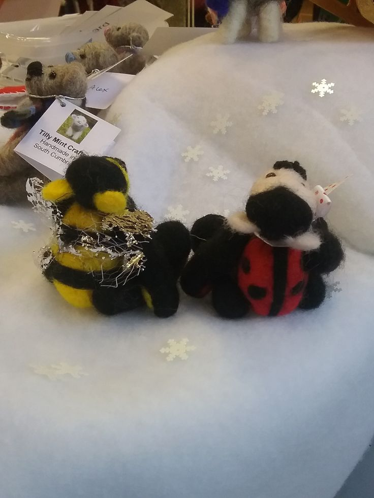 Bumble and Dotty - rear view.