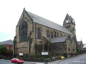 St Cuthberts Church, Darwen, near where I used to live