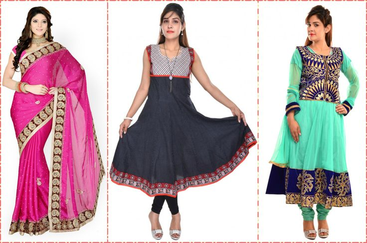 SHOPPING WITH NEW STYLES Gorgeous And Smart look With New Collection of Designer Sarees, Kurtis & Anarkali Suits Exclusive offers for a limited time only! https://www.crazora.com/new-arrival.html