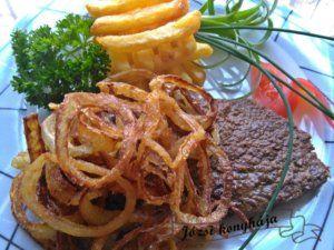 Hagymás rostélyos | Józsi konyhája