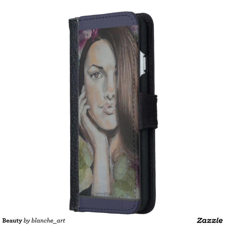 Beauty iPhone 6 Wallet Case