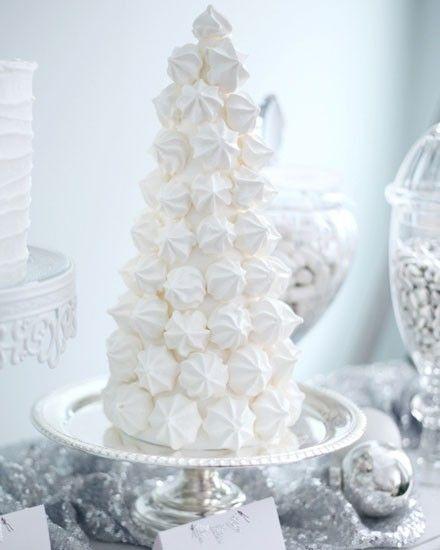 Shake My Blog   Sweet table de Noël blanche givrée