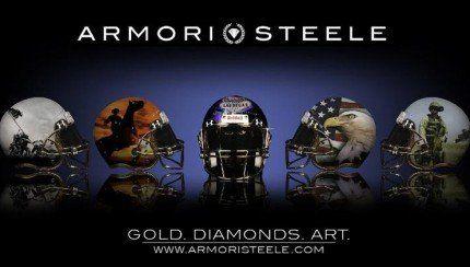 Amori Steele lance des casques de football de 12 500$! http://www.danslaction.com/fr/amori-steele-lance-des-casques-de-football-de-12-500/