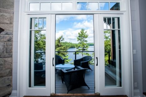#LakeRosseau, PORT CARLING -  #Muskoka Real Estate #waterfront #lakehouse #luxury #cottage #forsale.  Construction complete!