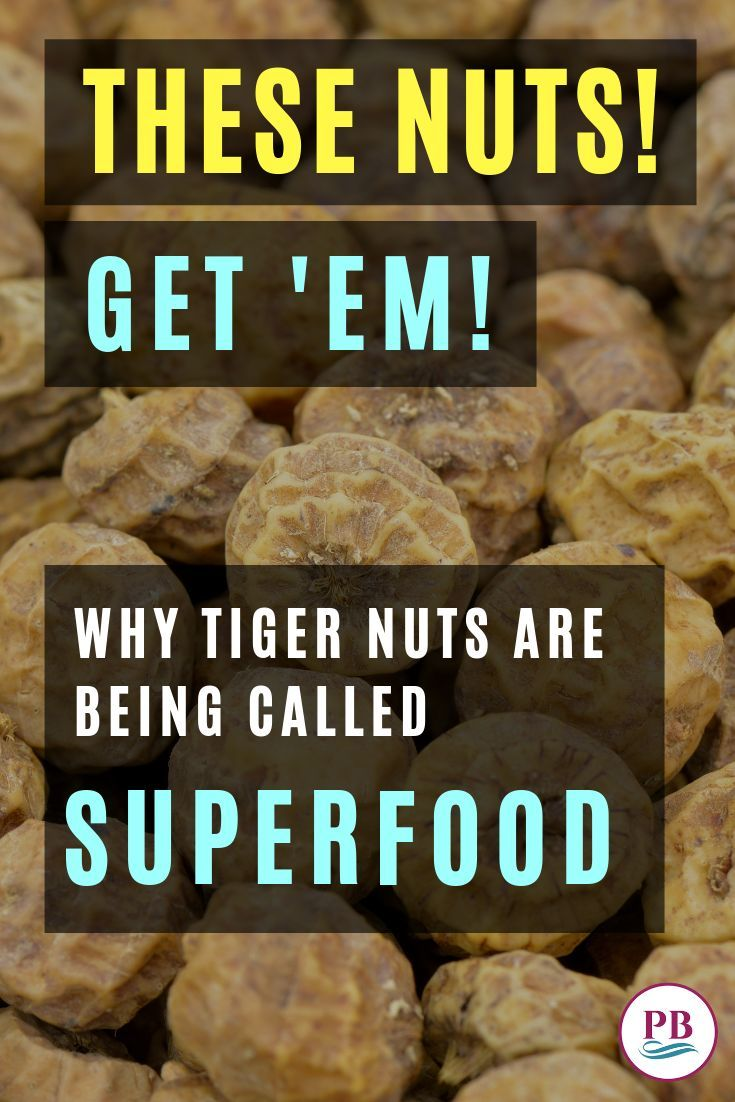 Tiger Nuts Get Em Paradise Blush Healthy Fiber Nut Benefits Superfood