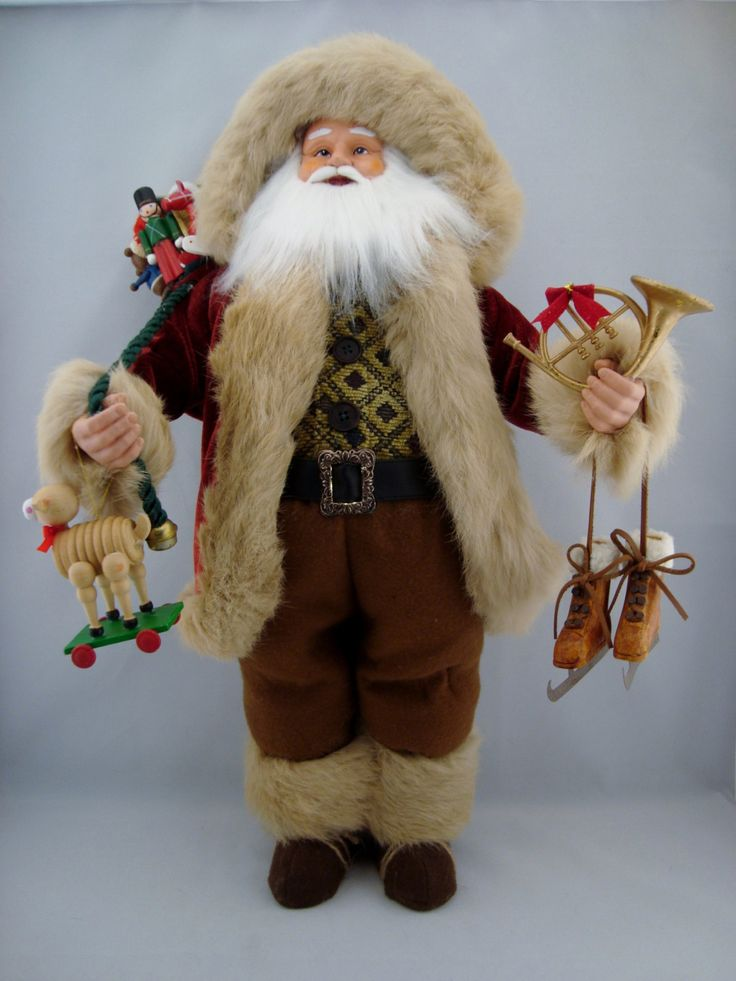 "Joyful Santa - Santa Claus Doll- 24"" - pinned by pin4etsy.com"