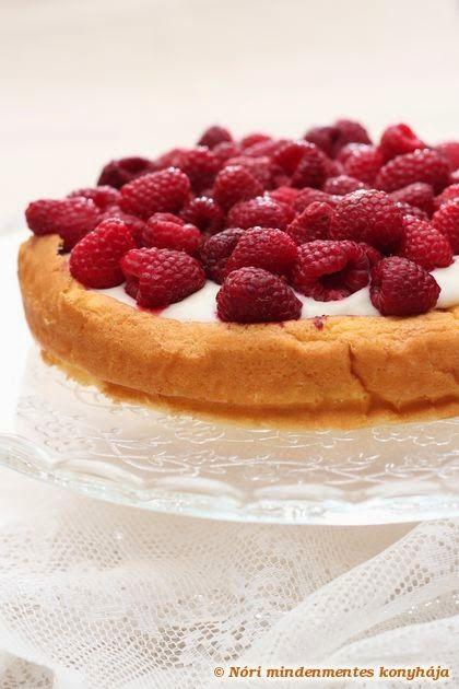 Nóri mindenmentes konyhája: Vaníliás málna torta gyorsan, liszt- cukor- és tejtermékmentesen