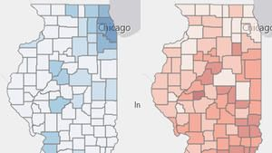 "In Illinois, Concealed Carry Of Guns Has Quiet First Year; Expansion Sought     Click pic for interactive map of concealed carry holders     "" Keith Hearn was getting out of his..."