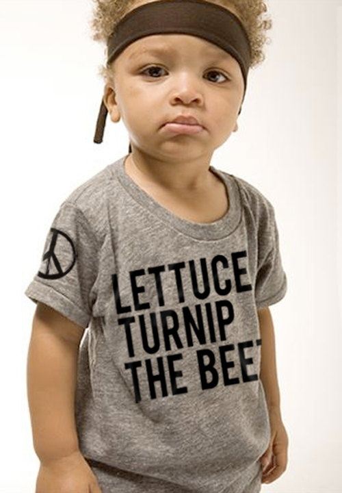 lettuce turnip the beet  toddler 1218M 2T 3T or 4T by coup on Etsy, $24.00