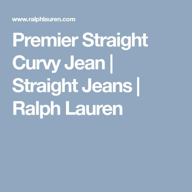 Premier Straight Curvy Jean | Straight Jeans | Ralph Lauren