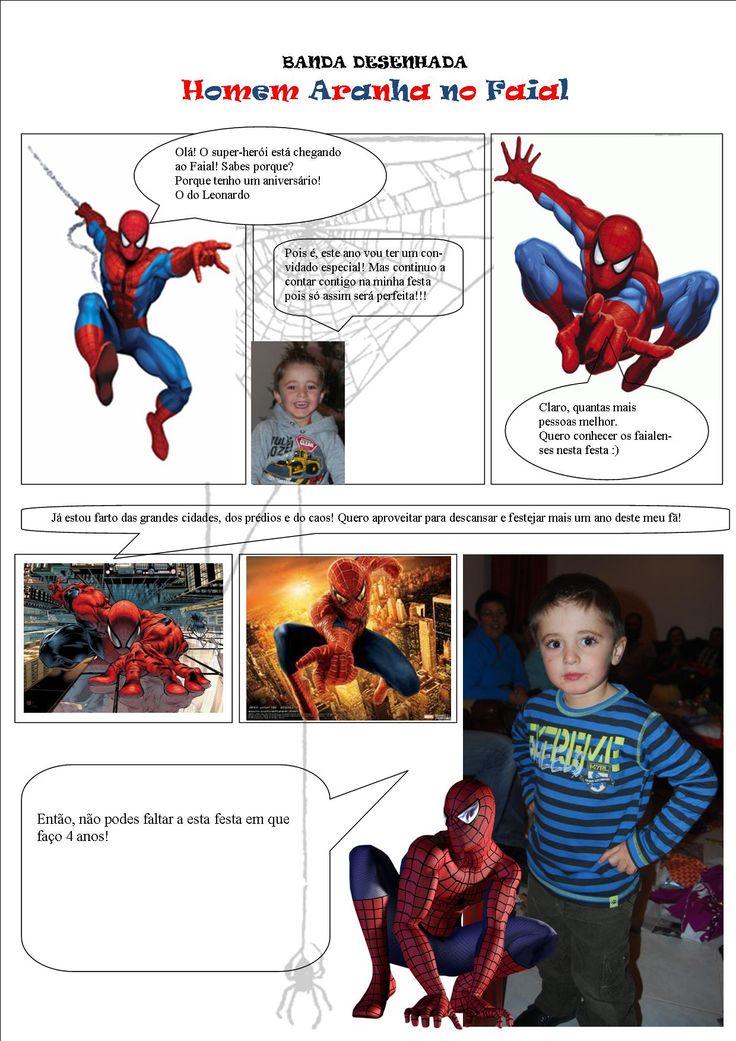 Convite Homem Aranha