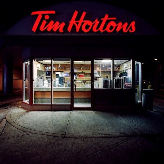Tim Hortons-very popular with us Canadian's.