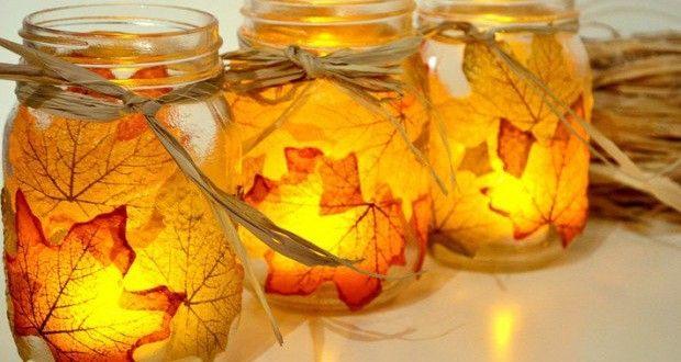 Eviniz için 15 Dekoratif ve Kolay DIY Sonbahar Süslemeleri | Kadinveblog