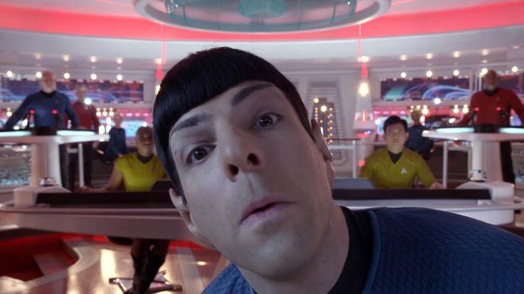 Star Trek: The Compendium - Star Trek Into Darkness Gag Reel #startrek #funny