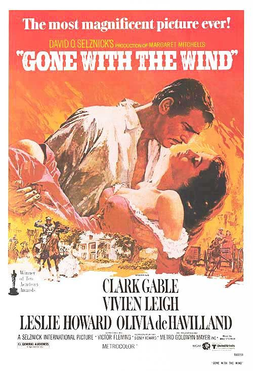 Gone With The Wind - DVD PN1995.9.W3 G66 1999