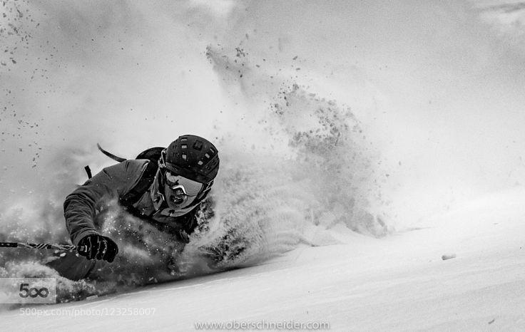 DEEP Powder Skiing by Christoph_Oberschneider