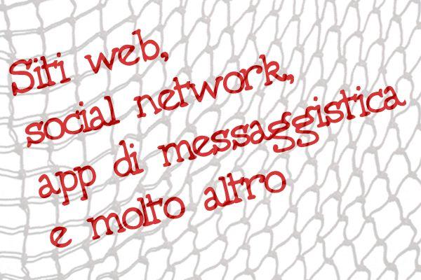 vita digitale non è uguale a vita reale,social e app di messaggistica sono solo apparenza