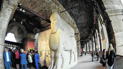 Los tesoros perdidos de Siria renacen en el Coliseo