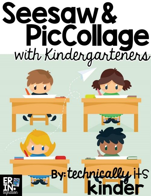 Learn how to use the iPad apps Seesaw and PicCollage Kids with Kindergarteners and create engaging activities for students to showcase their learning.