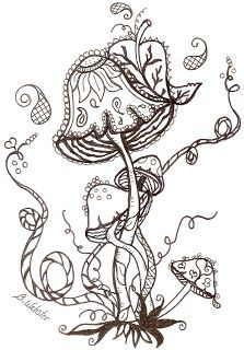 Images Of Mushrooms Coloring Pages