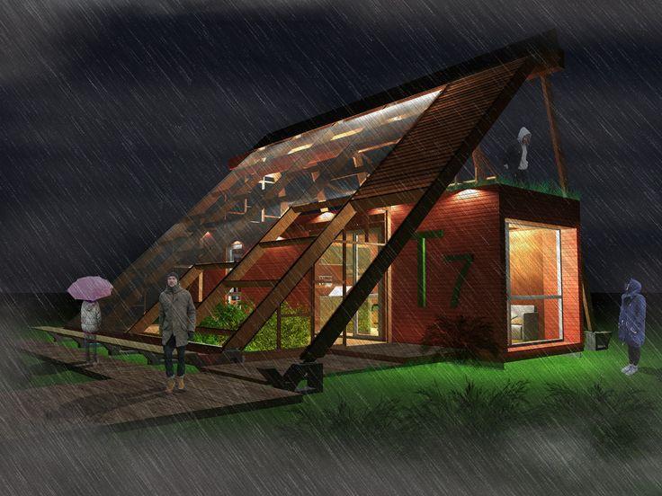Galería - Construye Solar: Casa Atrapa Lluvia - Atrapa Sol, vivienda sustentable en una ciudad contaminada - 6
