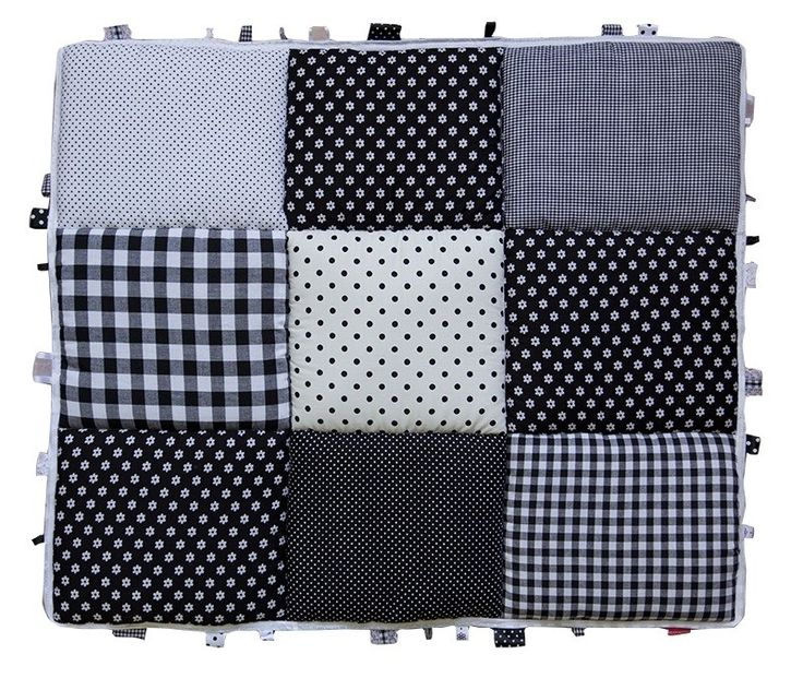 Boxkleed / Speelkleed: Zwart Wit