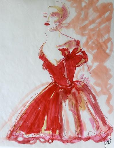 Red Dress ..