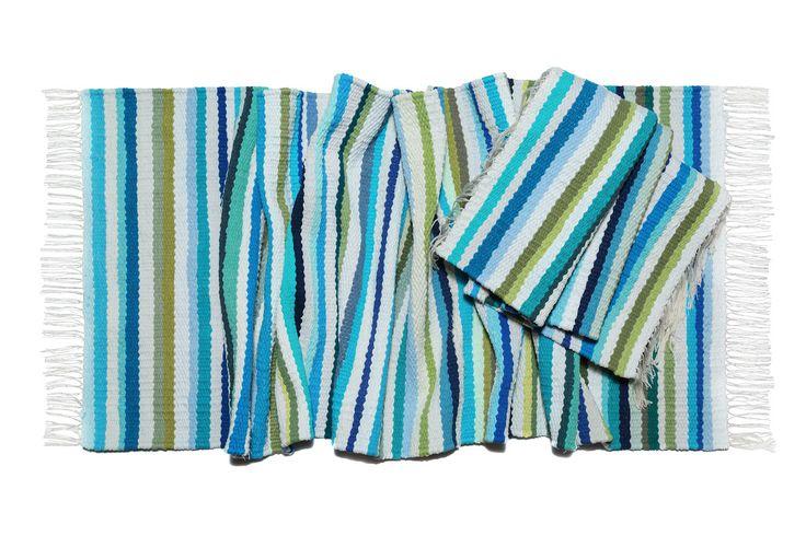"""collection woven carpet """"Sea"""""""