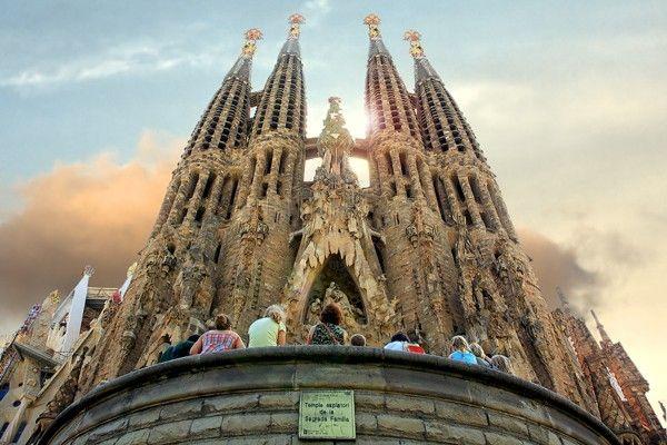 """Un'altra meravigliosa foto della """"Sagrada Familia""""."""
