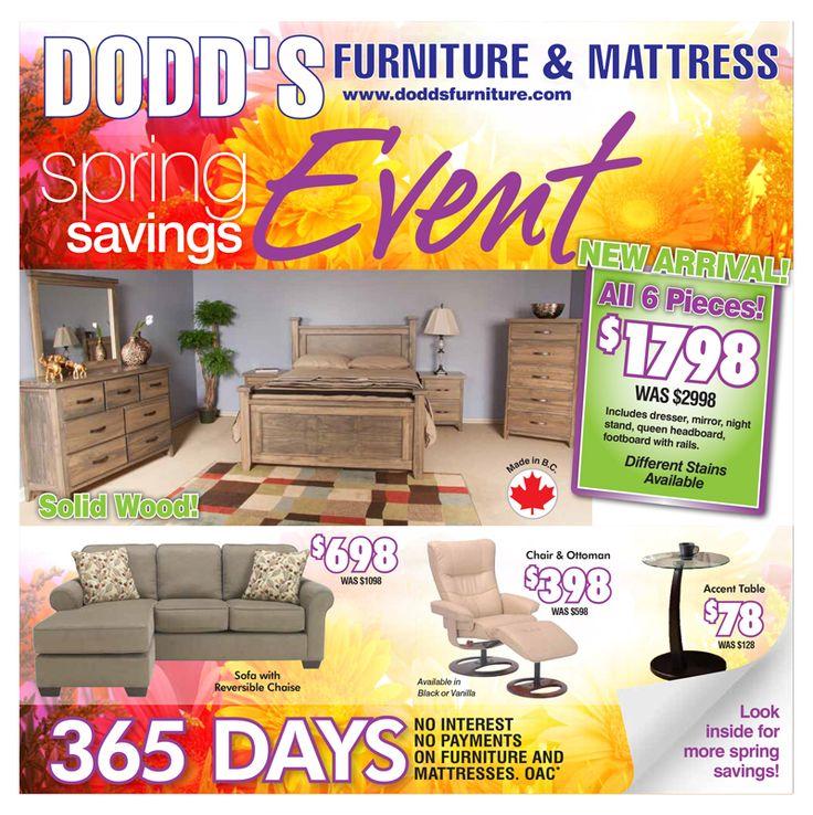 Dodd's Furniture and Mattress :: Home. Mako Natalie in a dark stain.