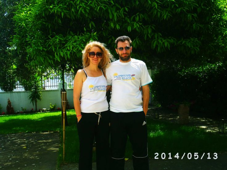 What do you think about our new #SalonikiouBeach T-shirts?