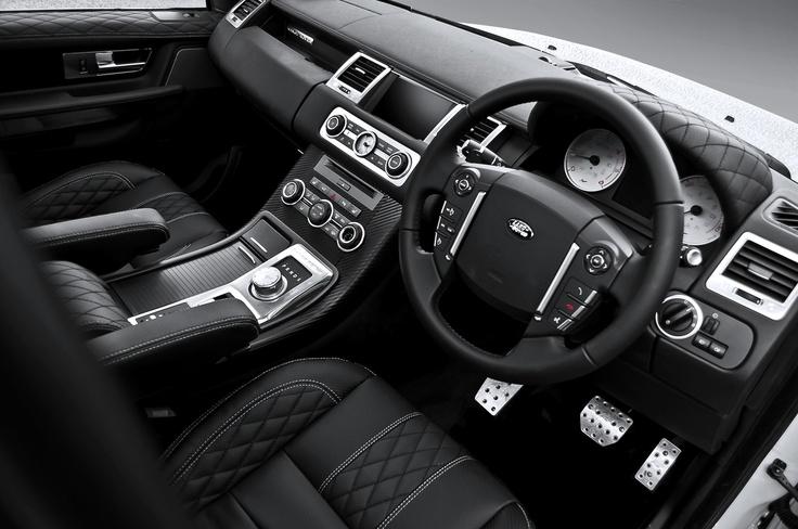 Kahn LE Range Rover Sport 3.0 SDV6 RSE interior