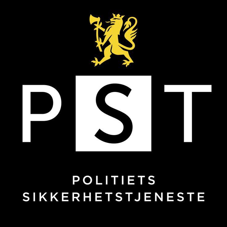 Politiets Sikkerhetstjeneste (PST) - Norwegian Police Security Service identity @tangramdesign. Developed in Tangram/Bates United.