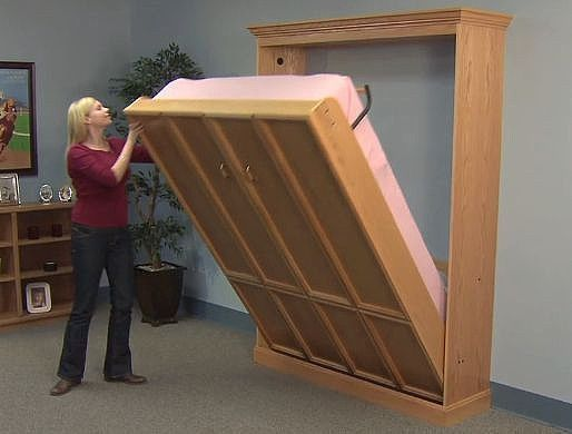 Do-It-Yourself Create-A-BedⓇ Murphy Bed Hardware Kit, Plans & DVD #CreateABedDeluxeKitMurphyBedMechanism