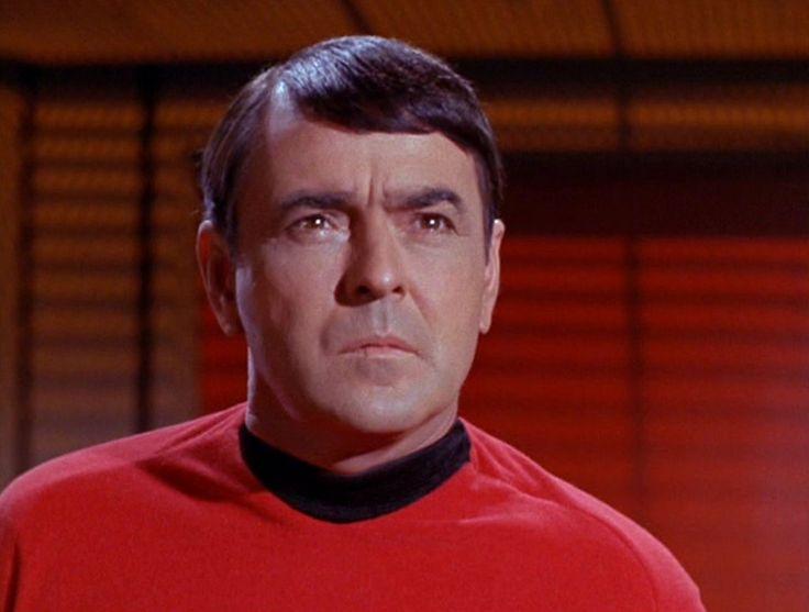 Chief Engineer Montgomery Scott  (James Doohan) Star Trek