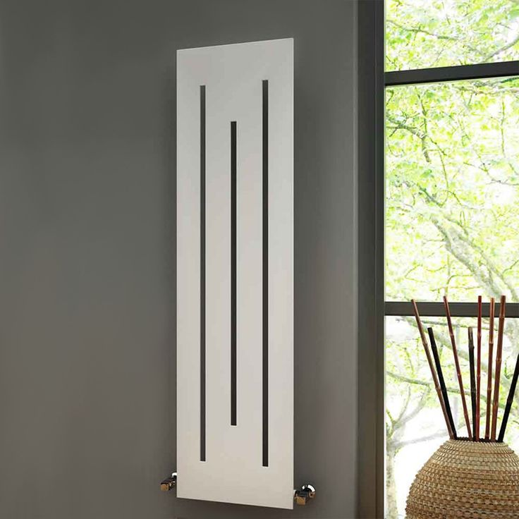 Bring a touch of luxury into your home with the Reina Line Radiator. Sophisticated and efficient, the Line radiator comes with both classical white and contemporary anthracite finishes to perfectly match your preferred style. #modernradiators