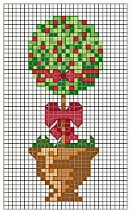 topiary tree pattern