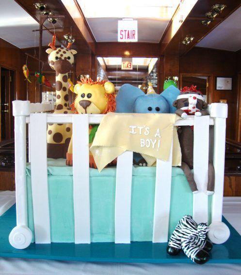 Custom Cakes Gallery - Baby Shower - TipsyCake Chicago