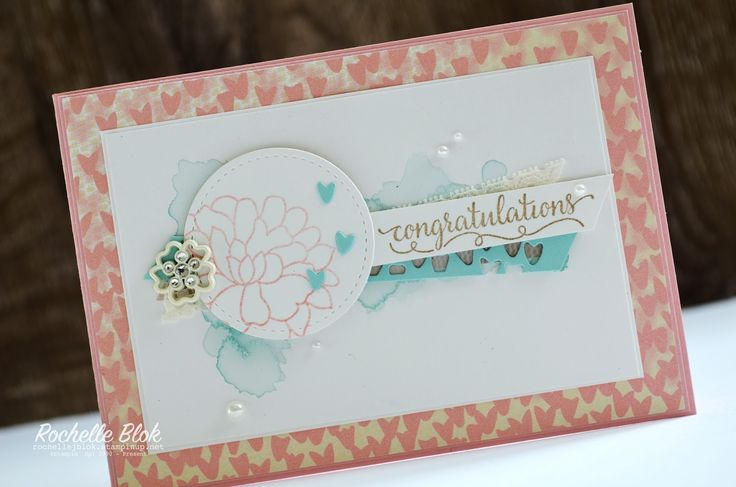 The Stamping Blok | #tgifc 83 | Stampin' Up! Falling in Love Suite | Rochelle Blok