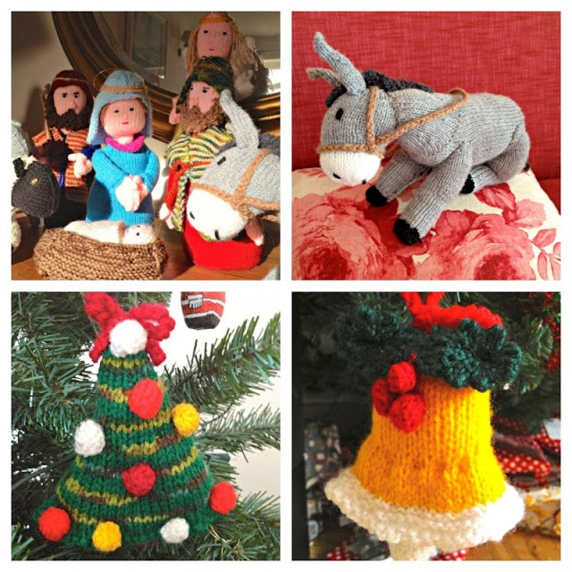 Knitting Christmas Decorations : Knitted christmas decorations knitting