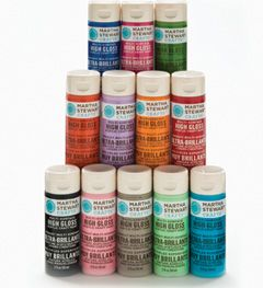 Martha Stewart Crafts™ Paint Kit - High Gloss #Plaidonline.com #ChristmasCraftWishList/ works well on glass