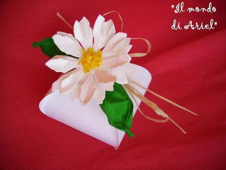 tutorial scatoline matrimonio,segnaposto portaconfetti