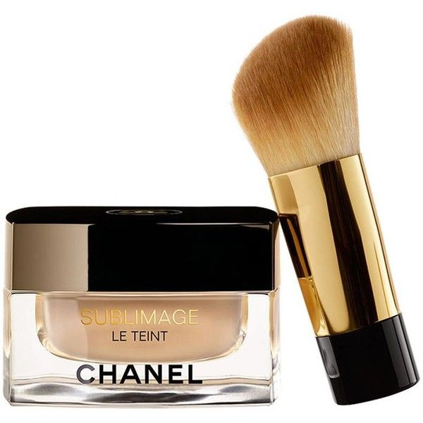 CHANEL Ultimate Radiance-Generating Cream Foundation - Colour Beige 30 (€110) ❤ liked on Polyvore featuring beauty products, makeup, face makeup, foundation, moisturizing foundation, chanel face makeup, hydrating foundation, chanel foundation and chanel