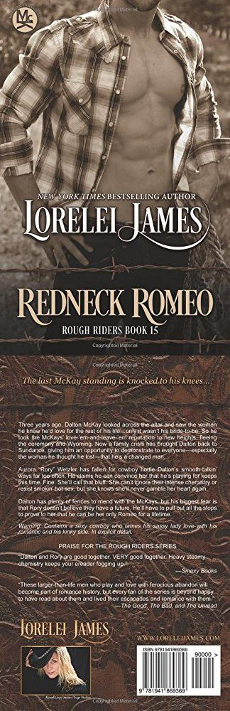 Redneck Romeo (Rough Riders) (Volume 15)