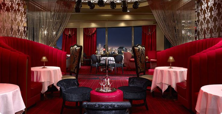 Sir Francis Drake hotel San Francisco- Harry Denton's Starlight Room